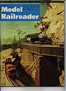 Model Railroader Magazine - September 1974 (Image1)