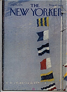 The New Yorker Magazine - July 29, 1974 (Image1)