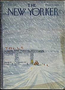 The New Yorker magazine - Feb. 7, 1977 (Image1)