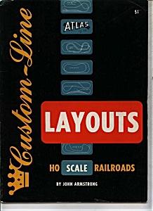 Custom Line - HO scale railroads - Copyright 1957 (Image1)