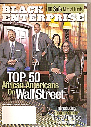 Black Enterprise - October 2002 (Image1)