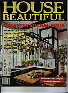 House Beautiful  Magazine - July 1981 (Image1)