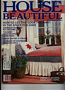 House Beautiful Magazine - September 1981 (Image1)