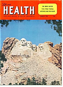 Life And Health Magazine- March 1958