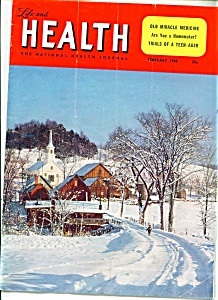 Life and Health magazine -  February 1958 (Image1)