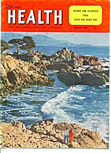 Life And Health Magazine - August 1957