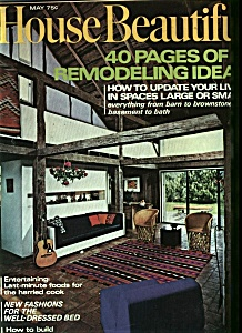 House Beautiful - May 1971 (Image1)