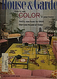 House & Garden Magazine - September 1965 (Image1)