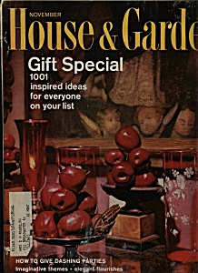 House & Garden Magazine - November 1965 (Image1)