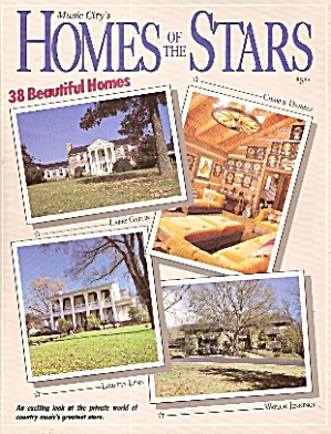 Music City's HOMES OF THE STARS - copyright 1990 (Image1)