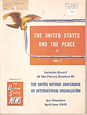 The United Nations Conference On International Organ