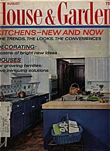 House & Garden Magazine - August 1968 (Image1)