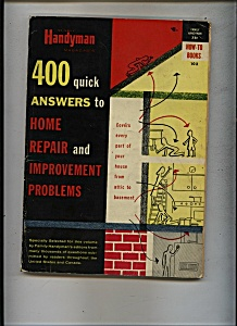 Handyman 400 Quick Answers - Copyright 1955