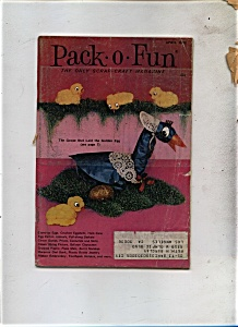 Pack - O- Fun Magazine -  April 1972 (Image1)