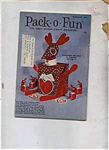 Pack - O - Fun Magazine - February 1972 (Image1)