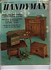 The Family Handyman Magazine - December 1963 (Image1)