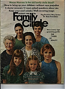 Family Circle  magazine - August 1968 (Image1)
