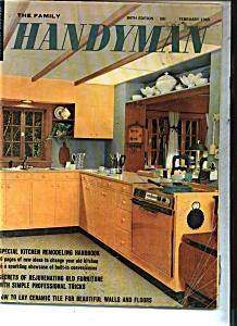 The Family Handyman - February 1965 (Image1)