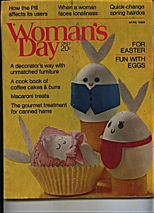 Woman's Day Magazine - April 1969 (Image1)