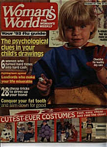 Woman's World Magazine - October 27, 1992