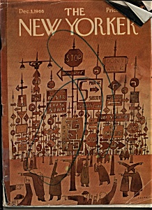 The New Yorker Magazine - December 3, 1966 (Image1)