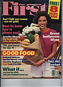 FIRST for women magazine - August 27, 1990 (Image1)