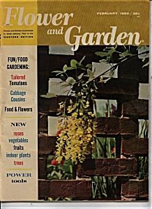 Flower and Garden Magazine - February 1965 (Image1)