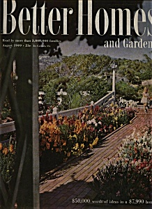 Better Homes and Gardens - August 1949 (Image1)