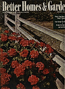 BetterHomes & Gardens magazine - August 1945 (Image1)