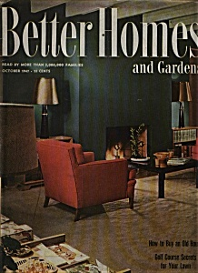 Better Homes and Gardens  Magazine= October 1947 (Image1)