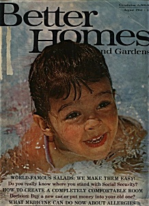 Better Homes and Gardens Magazine - August 1964 (Image1)