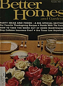 Better homes and Gardens magazine - November 1963 (Image1)