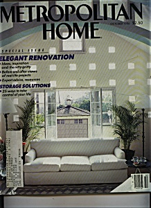 Metropolitan Home Magazine - October 1986 (Image1)