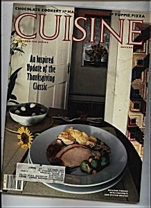 Cuisine Magazine - November 1984 (Image1)