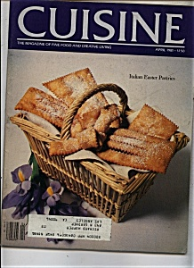 Cuisine Magazine - April 1981 (Image1)