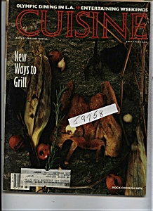 Cuisine Magazine - July 1984 (Image1)