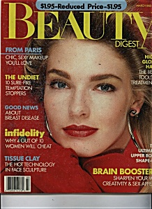 Beauty Digest  Magazine- March 1988 (Image1)