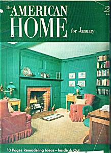 The American Home - January 1952