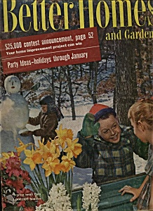 Better Homes And Gardens Magazine- January 1956