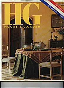 House & Garden (HG) Magazine - July 1989 (Image1)