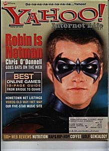 Yahoo! magazine - July 1997 (Image1)