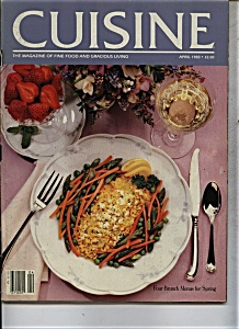 Cuisine Magazine - April 1983 (Image1)