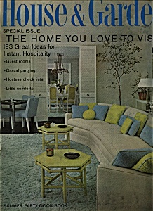 House & Garden Magazine = July 1967
