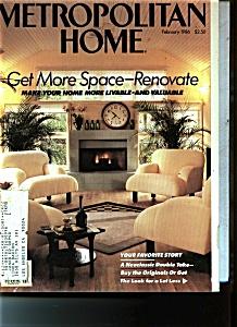 Metropolitan Home - February 1986 (Image1)