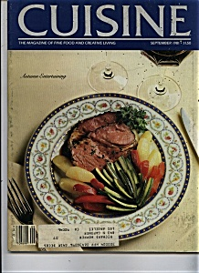 Cuisine Magazine - September 1981 (Image1)