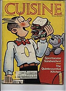 Cuisine Magazine Feb ruary 1984 (Image1)