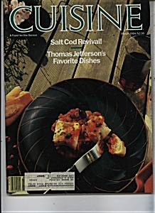Cuisine Magazine - March 1984 (Image1)