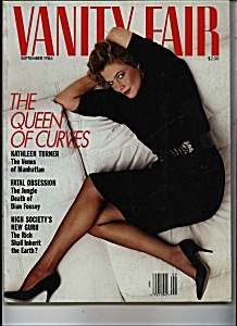 Vanity Fair Magazine - September 1986 (Image1)