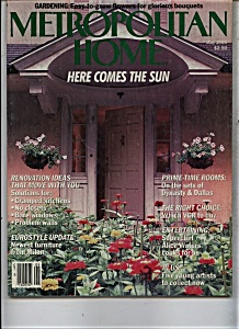 Metropolitan Home Magazine - May 1985