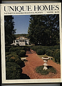 Unique Homes Magazine- Winter 1981 - 1982 (Image1)
